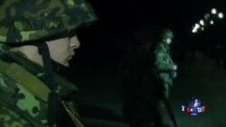 乌克兰军队在基辅举行安全演习