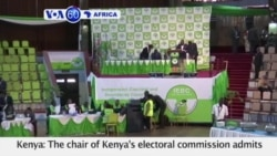 VOA60 Africa - Kenyan Officials Say Attempted Hack of Election System Failed