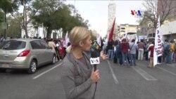 Las caras de las protestas en México