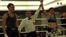 İspaniyanın boks üzrə qadın çempionu