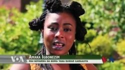 BIDIYO: Wata 'Yar Najeriya Mai Koyar Da Rawar Afirka Ga Turawan Amurka