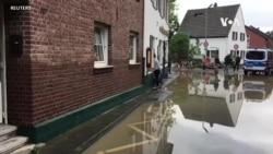 """默克爾說歐洲洪災""""可怕"""""""