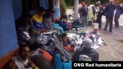 Crisis en frontera colombo - venezolana por hacinamiento de más de 7.000 migrantes venezolanos. [Foto: ONG Red humanitaria]