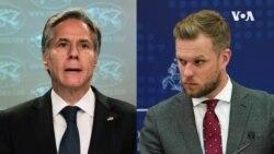 美國務卿稱堅定支持立陶宛抗拒中國外交壓力
