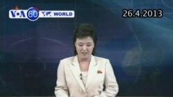 Bắc Triều Tiên bác bỏ đề nghị thảo luận với miền Nam (VOA60)
