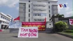 2 người bị tù vì biểu tình bạo động chống Trung Quốc