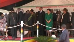 Zimbabwe President And Wife Grace Attend 37th Independence Day Celebrations