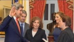 約翰-克里宣誓就任美國國務卿