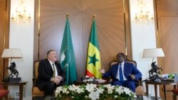 Mike Pompeo s'est entretenu pendant le week-end avec le président Macky Sall
