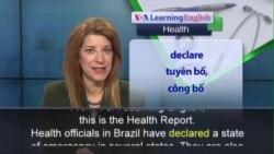 Phát âm chuẩn - Anh ngữ đặc biệt: Brazil Deformed Babies (VOA)
