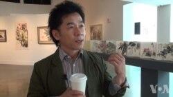 朝鲜绘画作品亮相美利坚,美籍韩裔学者力促艺术交流