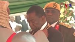Emmerson Mnangagwa officiellement investi président du Zimbabwe (vidéo)