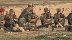 پیشمرگههای کرد عراقی به اقلیت ایزدی آموزش نظامی میدهند