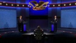 总统候选人辩论:政策交锋并相互诋毁
