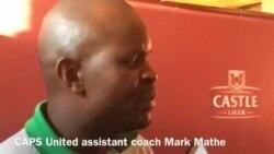 Caps United Assistant Coach Mathe Speaks About Bulawayo City Clash