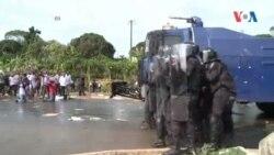 Des Manifestations à Libreville