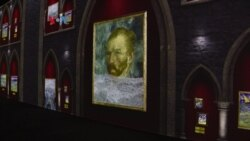 Pameran Karya Seni Van Gogh dalam 3 Dimensi