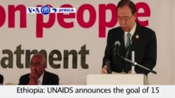VOA60 Africa-UNAIDS announces goal reached in treatment by life-saving HIV drugs- July 15, 2015