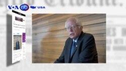 Ông Bernie Sanders được mời đến Vatican (VOA60)