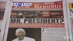 VOA60 AFIRKA: George Weah Ya Lashe Zaben Shugabancin Kasar Liberia