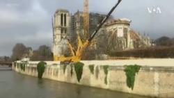 巴黎聖母院修復工作因新冠疫情中斷