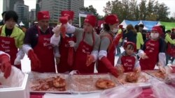 Seoul Kimchi Festival Keeps Korean Tradition Alive
