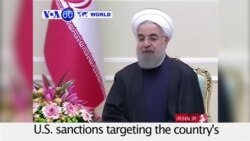 VOA60 World - Iran Calls New US Ballistic Missile Sanctions Illegitimate