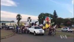 Marche de soutien au nouveau gouvernement congolais à Lubumbashi (vidéo)