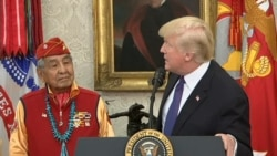 Trump Comments to Native American Code Talkers