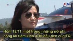 Nữ phi công TQ tử nạn khi tập lái máy bay nội địa