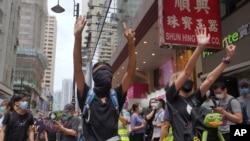 Hong Kong, Sunday, May 24, 2020.