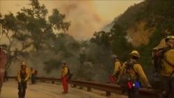 2017-12-12 美國之音視頻新聞: 加州天氣乾燥野火蔓延風險猶存