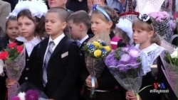 Ukraine Schools Resume Classes, Donate to Government Forces
