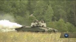 Військові навчання НАТО в Естонії. Відео
