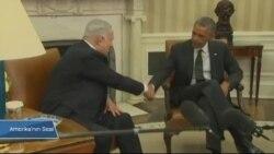 Obama Netanyahu'yu Beyaz Saray'da Ağırlıyor