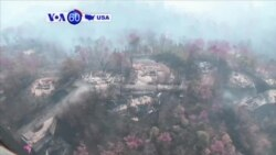 VOA60 America - Officials survey the damage after a wildfire rips through the town of Gatlinburg, Tennessee