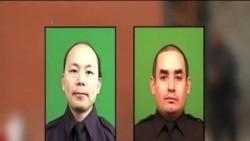 紐約市民悼念被殺警官 呼籲摒棄仇恨爭取和解