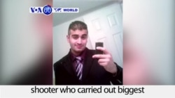 VOA60 World PM - US Authorities: Orlando Shooter's WIfe Knew of Attack Plans
