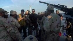 美柬海军在泰国湾联合演习