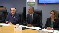 Obama advierte sobre impacto de Matthew