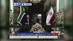 VOA60 AFIRKA: IRAN Shugaban Afirka ta kudu Jacob Zuma ya Gana da Shugaba Hassan Rouhani.