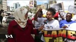Wanawake waandamana Nairobi kuhusu kesi za wanawake waliouwawa