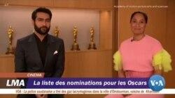 La liste des nominations pour les Oscars