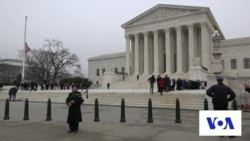 Public Pays Respects to US Supreme Court's Scalia