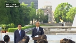 An Excerpt of Obama's Remarks at Hiroshima Peace Memorial Park