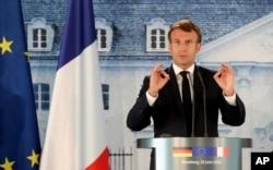 Fransa Cumhurbaşkanı Emmanuel Macron bugün Beyrut'a gidiyor