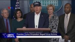 Sapa Dunia VOA: Presiden Trump Dinyatakan Negatif COVID-19