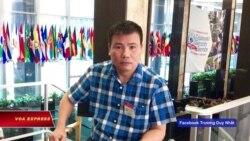 Blogger Trương Duy Nhất mất tích trong khi xin tị nạn chính trị