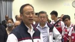 香港理大副校長等人員進校園搜索被圍困人士