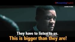 Học tiếng Anh qua phim ảnh: Bigger than they are - Phim Concussion (VOA)
